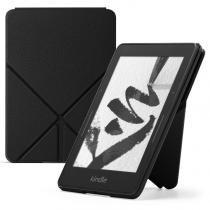 Capa Origami Protetora de PU para Kindle Voyage Preta - Amazon