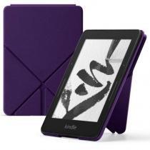 Capa Origami Protetora de PU para Kindle Voyage Roxa - Amazon