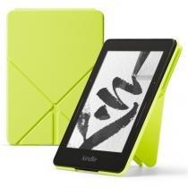 Capa Origami Protetora de PU para Kindle Voyage Verde - Amazon