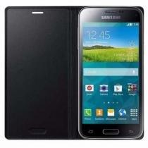 Capa Original Flip Cover Samsung Galaxy S5 Mini - Preta - Samsung