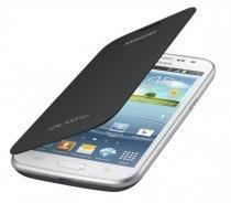 Capa Original Samsung Flip Cover Win Duos I8552 - I8550 - Grafite