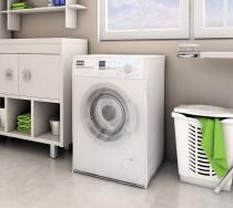 Capa P/ Máquina de Lavar C/ Abertura Frontal - 10,5Kg a 13Kg - Adomes - Adomes