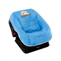 Capa para Bebê Conforto em Malha Ursinho Azul - Giz de Cor -