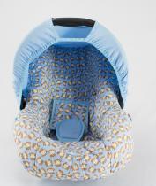 Capa Para Bebê Conforto Multimarcas De 0 A 13 Kg Macacos - Alan pierre baby