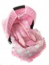 Capa para Bebê Conforto Nuvem Rosa - Alan pierre baby