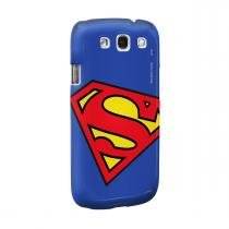 Capa para Celular Geek Superman: Logo Superman Oficial - Samsung S3 - BAND UP