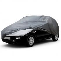 Capa para Cobrir Carro Forrada Impermeável   Cabo e Cadeado - Capas Solar Tamanho M (526) - Plasitap