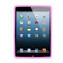 Capa para ipad 2 emborrachada cl01 rosa claro - Unik