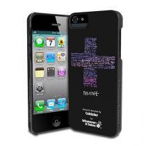 Capa Para iPhone 5/5S/SE Premium Wit Coldplay Preta - Apple