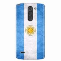 Capa para LG G3 Stylus Bandeira Argentina - Quero case 3e1f73c579293