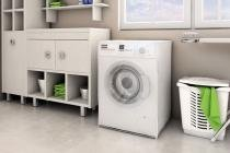 Capa Para Máquina De Lavar Roupa Adomes M3050 Com Abertura Frontal Transparente - Adomes