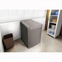Capa para Máquina de Lavar Roupas Adomes Cinza 10 a 11,5 kg - Adomes