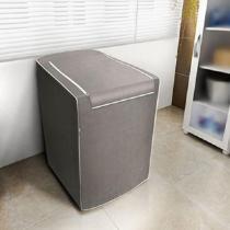 Capa para Máquina de Lavar Roupas Adomes M3002 Tampa com zíper 10 a 11,5 KG Rato Fosco -