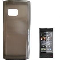 Capa Para Nokia X6 Tpu Grafite - Nokia