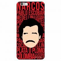 Capa Personalizada Exclusiva Apple Iphone 6 6S Narcos - TV74 - Apple