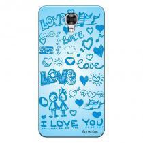 Capa Personalizada Exclusiva LG X Screen I Love You - LV03 -