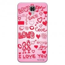 Capa personalizada exclusiva lg x screen i love you - lv04 - Lg