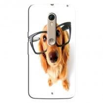 Capa Personalizada Exclusiva Motorola Moto X Style XT1572 Cachorros - PE25 - Motorola