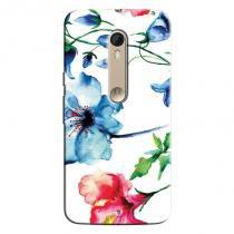Capa Personalizada Exclusiva Motorola Moto X Style XT1572 Flores - FL07 - Motorola