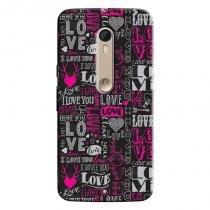 Capa Personalizada Exclusiva Motorola Moto X Style XT1572 Love - LV20 - Motorola