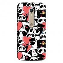 Capa Personalizada Exclusiva Motorola Moto X Style XT1572 Love Panda - LV21 - Motorola