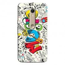 Capa Personalizada Exclusiva Motorola Moto X Style XT1572 Music - MU15 - Motorola