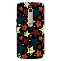 Capa Personalizada Exclusiva Motorola Moto X Style XT1572 Textura Estrelas - TX37 - Motorola