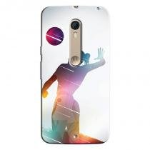 Capa Personalizada Exclusiva Motorola Moto X Style XT1572 Volleyball - EP30 - Motorola