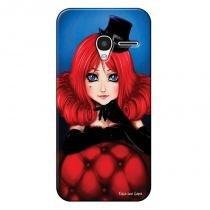 Capa Personalizada Exclusiva para Alcatel Pixi 3 4.5 Moulin Rouge - DE05 - Alcatel
