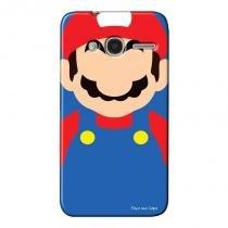 Capa Personalizada Exclusiva para Alcatel Pixi 4 4.0 Super Mario - GA25 - Alcatel
