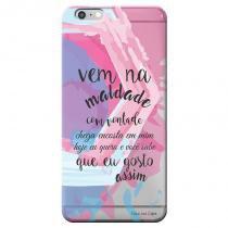 Capa Personalizada Exclusiva para Apple Iphone 6 6S Sons do Brasil - MB05 - Apple