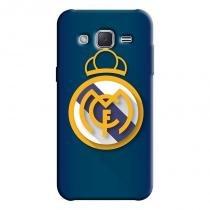 Capa Personalizada Exclusiva Samsung Galaxy J2 J200BT J200H J200Y Real Madrid - FT16 - Samsung