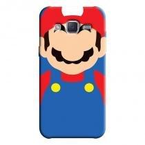 Capa Personalizada Exclusiva Samsung Galaxy J2 J200BT J200H J200Y Super Mario - GA25 - Samsung