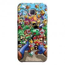 Capa Personalizada Exclusiva Samsung Galaxy J2 J200BT J200H J200Y Super Mario - GA27 - Samsung