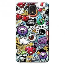 Capa Personalizada Exclusiva Samsung Galaxy Note 3 Neo Duos N7502 S7502 N7505 - AR45 - Samsung