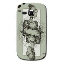Capa Personalizada Exclusiva Samsung Galaxy S3 Mini Ve I8200 - AT27 -
