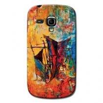 Capa Personalizada Exclusiva Samsung Galaxy S3 Mini Ve I8200 - AT36 -