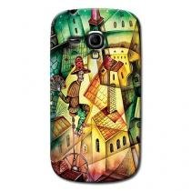 Capa Personalizada Exclusiva Samsung Galaxy S3 Mini Ve I8200 - AT62 -