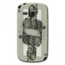 Capa Personalizada Exclusiva Samsung Galaxy S3 Mini Ve I8200 - AT67 -