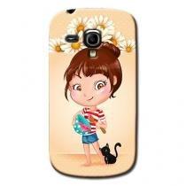 Capa Personalizada Exclusiva Samsung Galaxy S3 mini Ve I8200 - DE02 -