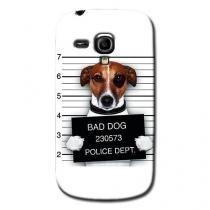 Capa Personalizada Exclusiva Samsung Galaxy S3 mini Ve I8200 - PE28 -