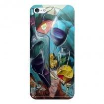 Capa Personalizada  para Apple Iphone 5 5S Vinhos e Queijos - DE21 - Apple