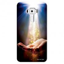 Capa Personalizada para Asus Zenfone 3 5.2 ZE520KL Mão Sagrada - RE09 - Asus