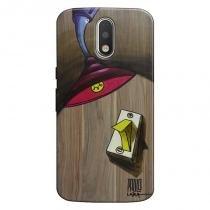 Capa Personalizada para Moto G4 Plus Luz Acesa - DE16 - Motorola