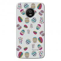 Capa Personalizada para Motorola Moto G5 Ovos de Páscoa - CP04 - Motorola