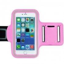 Capa protetora braçadeira de neoprene p/ iphone 5 5s 5c rosa - Oem