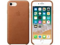 Capa Protetora Couro para iPhone 7 e iPhone 8 - Apple MQH72ZM/A