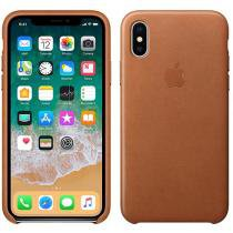 Capa Protetora Couro para iPhone X - Apple MQTA2ZM/A