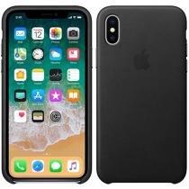 Capa Protetora Couro para iPhone X - Apple MQTD2ZM/A