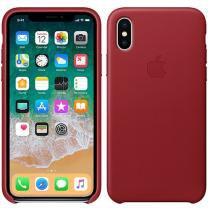 Capa Protetora Couro para iPhone X - Apple MQTE2ZM/A